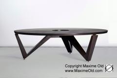 Biennale 2016 Table basse Anneaux de Saturne Maxime Old Meubles Modernes d'Art - Modern Art Furniture