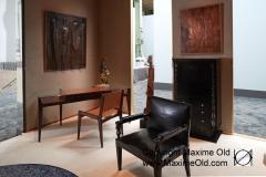 Stand Yves Gastou - Biennale 2016 Bureau Maxime Old Meubles Modernes d'Art - Modern Art Furniture