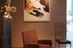 Stand Yves Gastou - Biennale 2016 Fauteuil Maxime Old Meubles Modernes d'Art - Modern Art Furniture