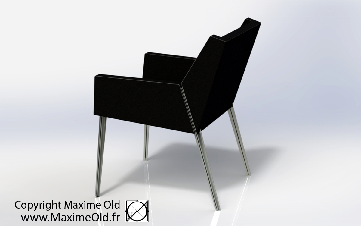 Maxime Old Bridge Armchair, designed for the cruise-liner France, now produced by Maxime Old Concept