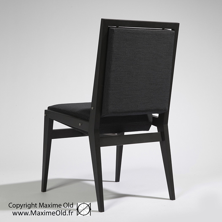 Chaise Conseil Maxime Old par Maxime Old Concept