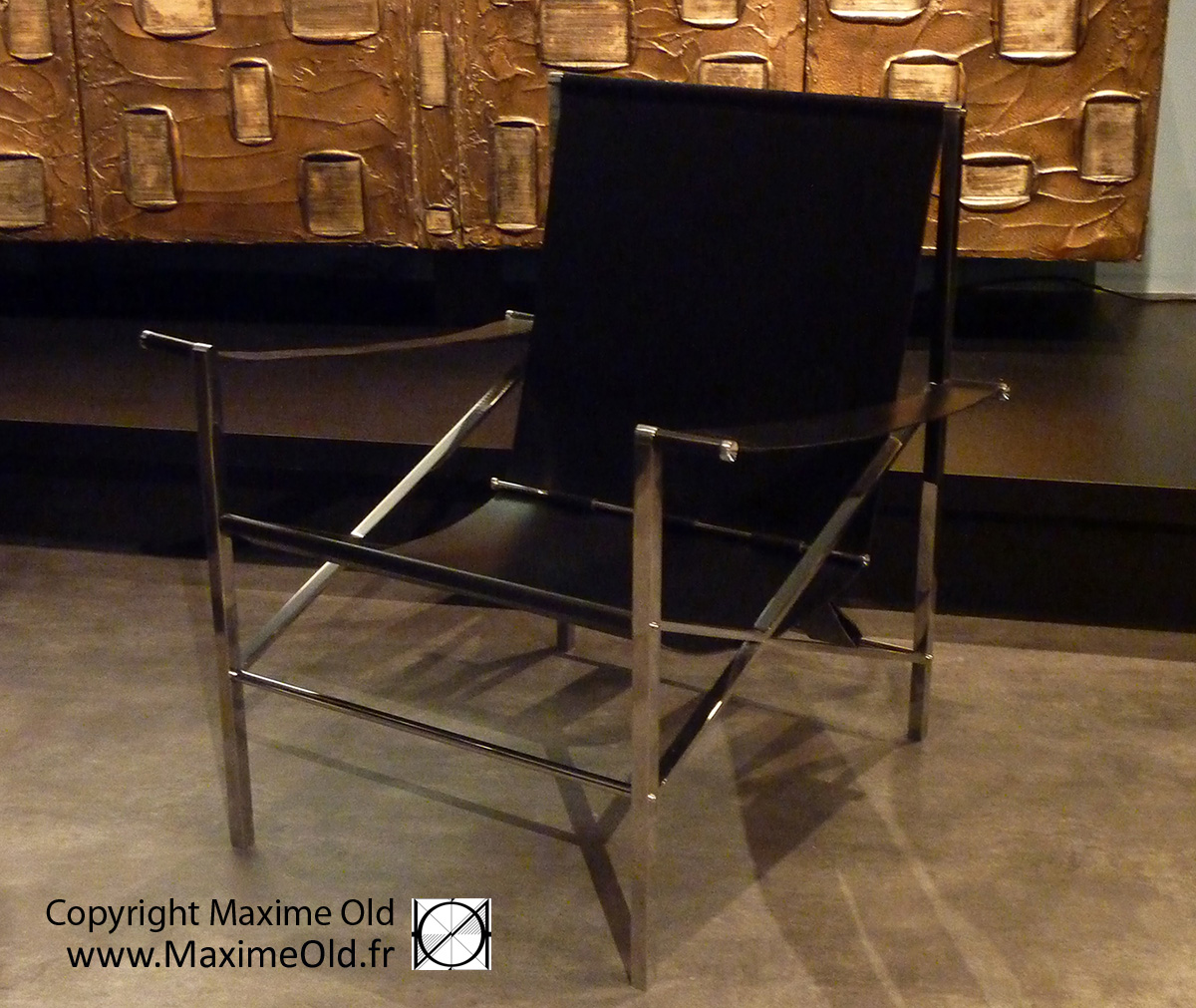 Maxime Old Seats: Maxime Old VIP Deck Armchair