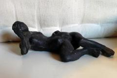 JP Demarchi essai miniature femme nue allongee
