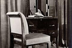 Secretaire 1608 de E.J. Ruhlmann, ouvert