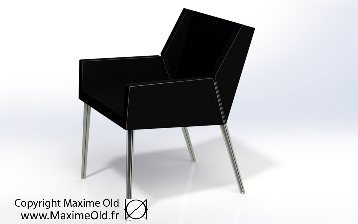 Paquebot France Bridge Armchair produced by Maxime Old Concept, designed by Maxime Old Modern Art Furniture Designer