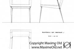Fauteuil Bridge Paquebot France Maxime Old Créateur de Meubles Modernes d'Art - Modern Art Furniture Designer