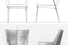 Fauteuil Détente versus Fauteuil Bridge Maxime Old Créateur de Meubles Modernes d'Art - Modern Art Furniture Designer