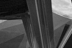 Détail pied avant Fauteuil Détente Paquebot France Maxime Old Créateur de Meubles Modernes d'Art - Modern Art Furniture Designer