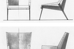 Fauteuil Détente Paquebot France versus Fauteuil Léger Maxime Old Créateur de Meubles Modernes d'Art - Modern Art Furniture Designer