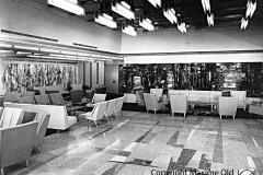 Grand Salon des Premières Classes Paquebot France Maxime Old Créateur de Meubles Modernes d'Art - Modern Art Furniture Designer