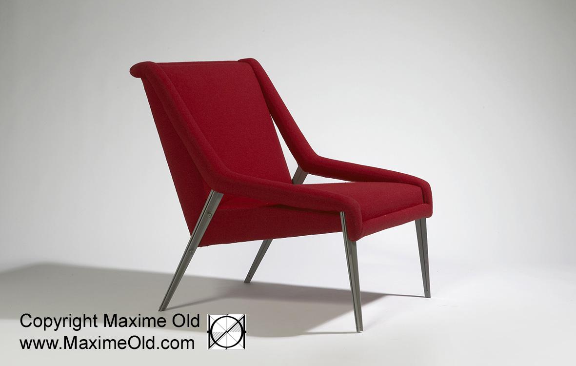 Fauteuil Createur fauteuil léger paquebot france initial archives - maxime old modern