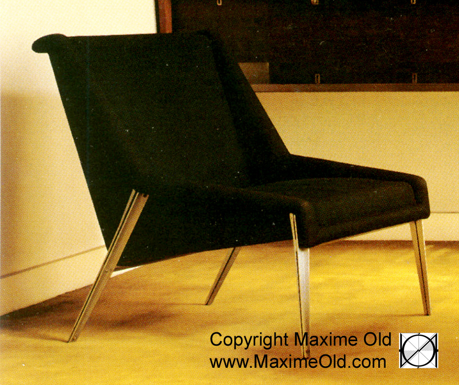 Fauteuil Léger paquebot France initial Archives Maxime Old Modern