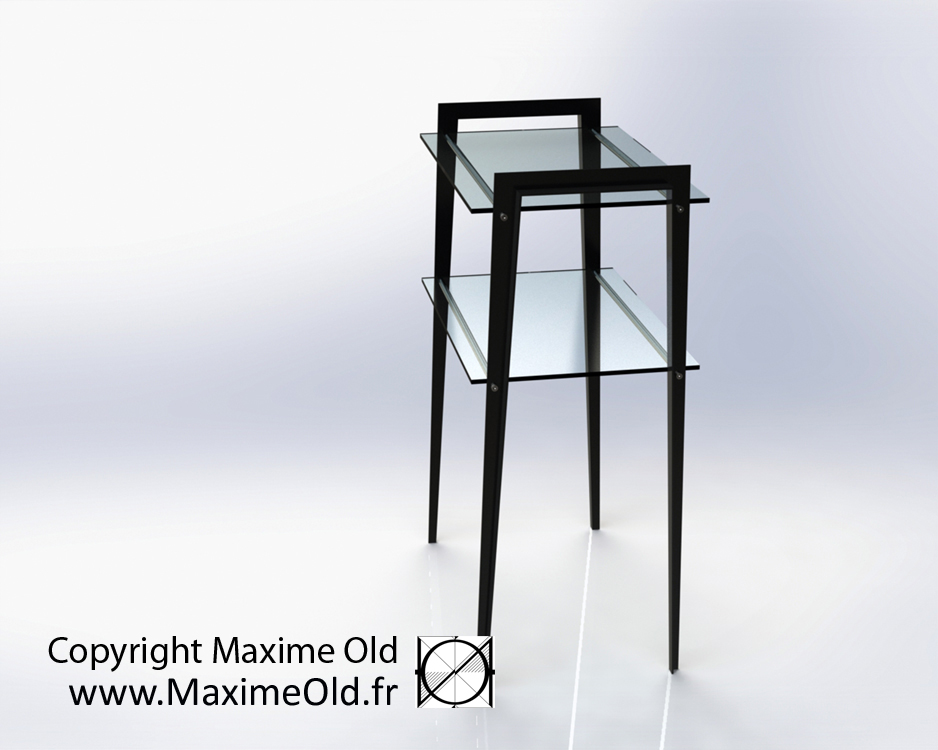 Maxime Old Grasshopper Table by Maxime Old Concept