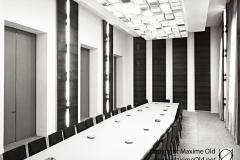 Grande salle de reunion de l Hotel de Ville de Rouen Maxime Old 1960