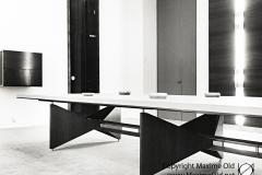 Pied table grande salle de reunion Hotel de Ville de Rouen Maxime Old 1960