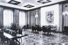 Salle a Manger de la Halle aux Toiles de Rouen Maxime Old 1960