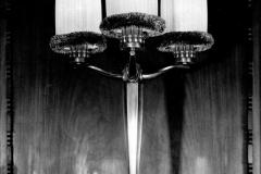 Ruhlmann-Luminaire-113 Candélabre trois branches ref 3343 vers 1922