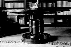 Ruhlmann Table ronde Faure vers 1925 ref 1030 AR 1304 NR