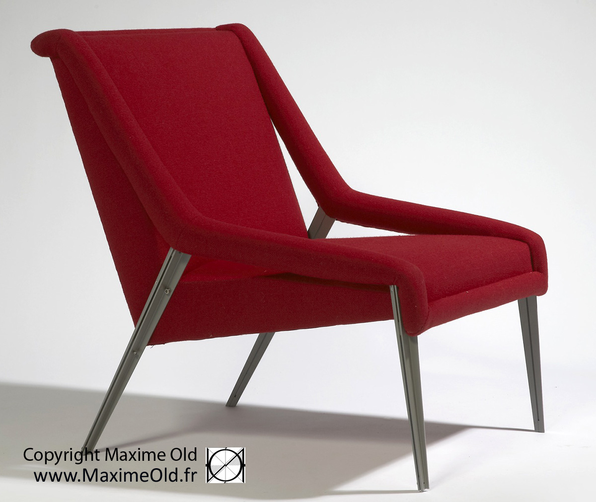 Maxime Old Seats: Maxime Old Paquebot France Light Armchair