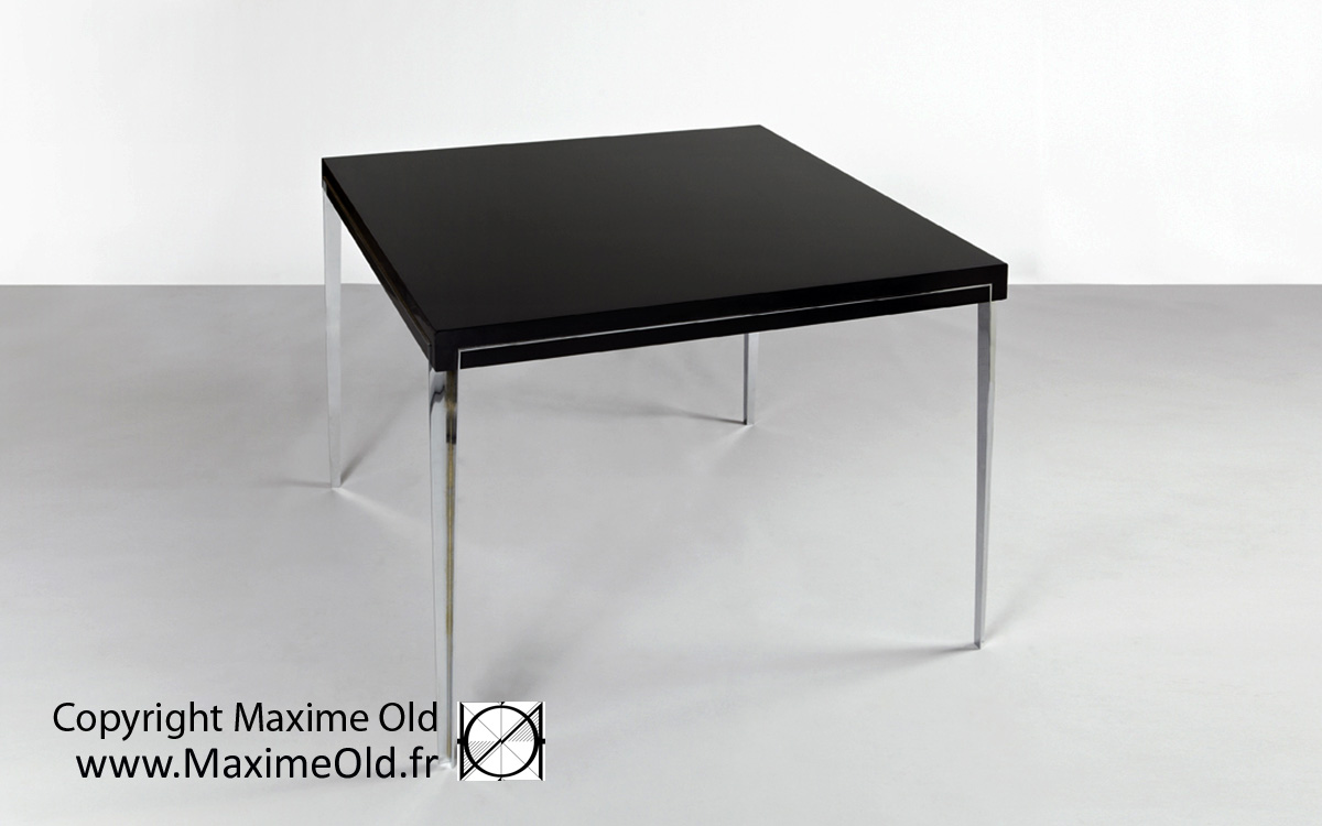 Maxime Old cruise-liner France Onyx Table by Maxime Old Concept