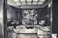 Paquebot Atlantique apt de Luxe Vue Salon. Maxime Old Créateur de Meubles Modernes d'Art - Modern Art Furniture Designer