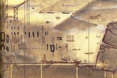 Projet de décor. Paquebot Atlantique apt de Luxe. Maxime Old Créateur de Meubles Modernes d'Art - Modern Art Furniture Designer