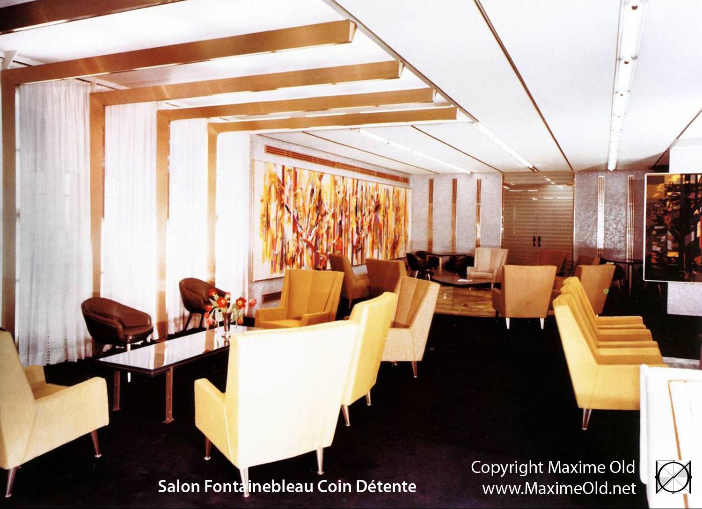 Paquebot France, grand Salon des premières. Maxime Old Créateur de ...