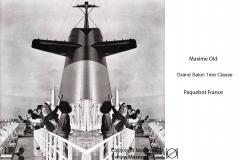 Paquebot France Maxime Old Créateur de Meubles Modernes d'Art - Modern Art Furniture Designer