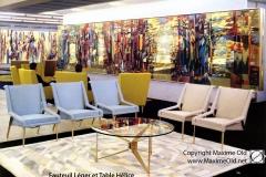 Salon 1 Paquebot France Maxime Old Créateur de Meubles Modernes d'Art - Modern Art Furniture Designer