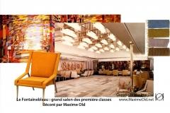 Salon 2 Paquebot France Maxime Old Créateur de Meubles Modernes d'Art - Modern Art Furniture Designer