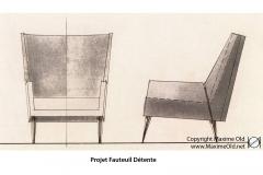 Salon 7 Paquebot France Maxime Old Créateur de Meubles Modernes d'Art - Modern Art Furniture Designer