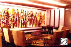 Cruise liner France Wave Table - Maxime Old Modern Art Furniture