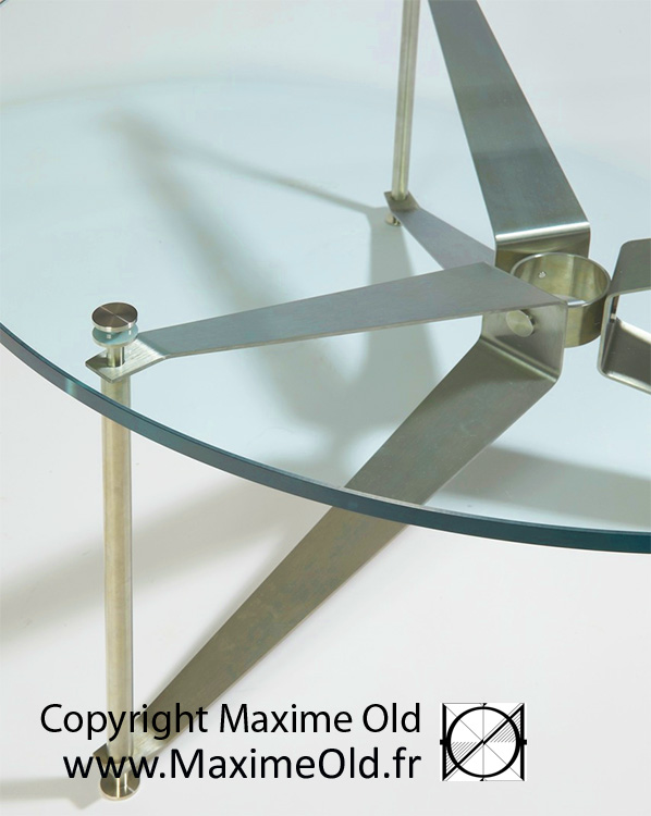 Maxime Old cruise-liner France Propeller Table by Maxime Old Concept