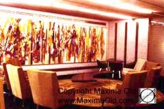 Table Vague paquebot France Maxime Old Meubles Modernes d'Art