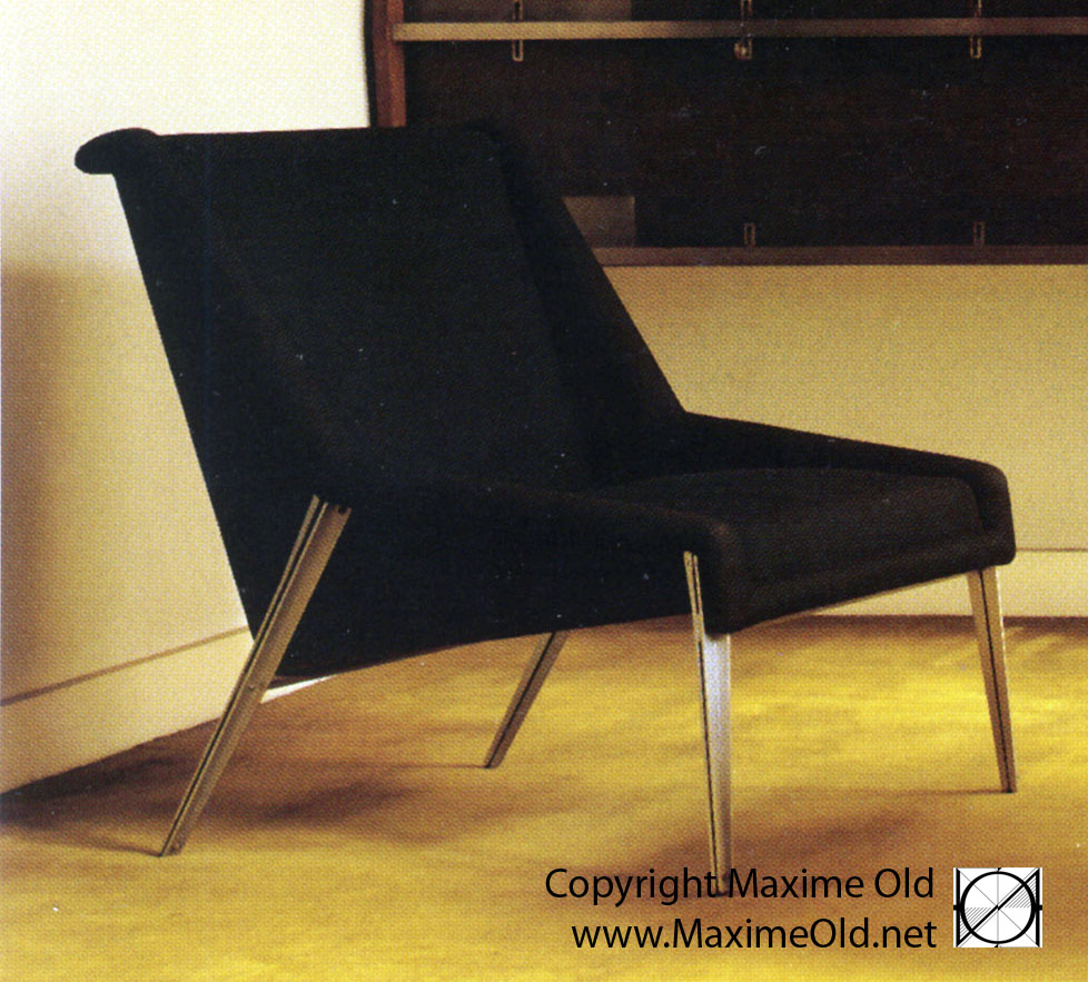 Maxime Old Modern Art Furniture Designer, Outstanding Customer Relationship : Light Armchair, SAD 1961 variation