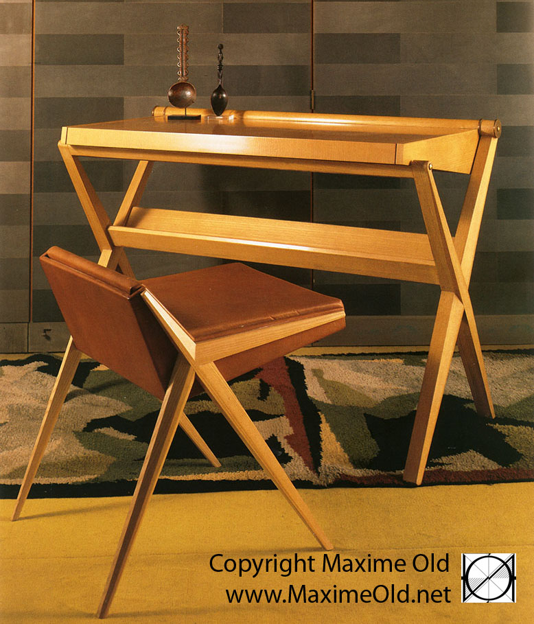 Maxime Old Modern Art Furniture Designer, Outstanding Customer Relationship : Writting desk Personnal variation