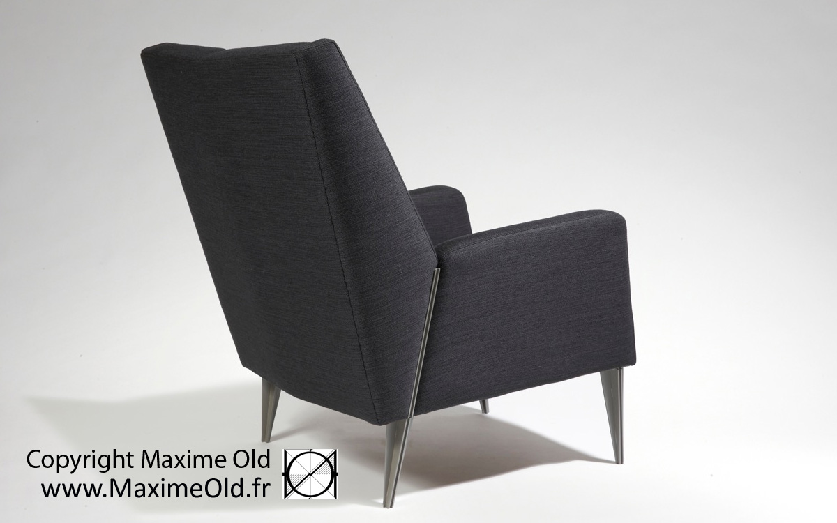 Maxime Old cruise-liner France Relaxing Armchair by Maxime Old Concept
