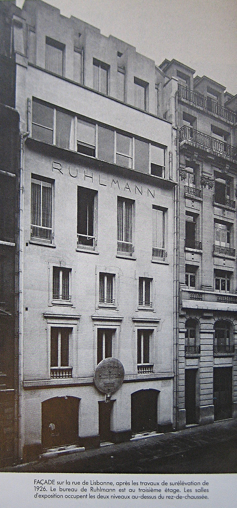 Ruhlmann by his fellow workers : Ets-ruhlmann-27-rue-de-lisbonne-1930