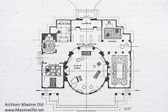 004 Ruhlmann Hôtel du Collectionneur. Plan