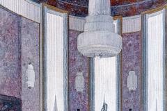 005 Ruhlmann Projet gouaché du Grand Salon de l'Hôtel du Collectionneur 1/2