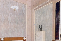 009 Ruhlmann Projet gouaché de la Chambre à coucher de l'Hôtel du Collectionneur