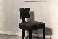 096-2 Ruhlmann Chaise de salle à manger