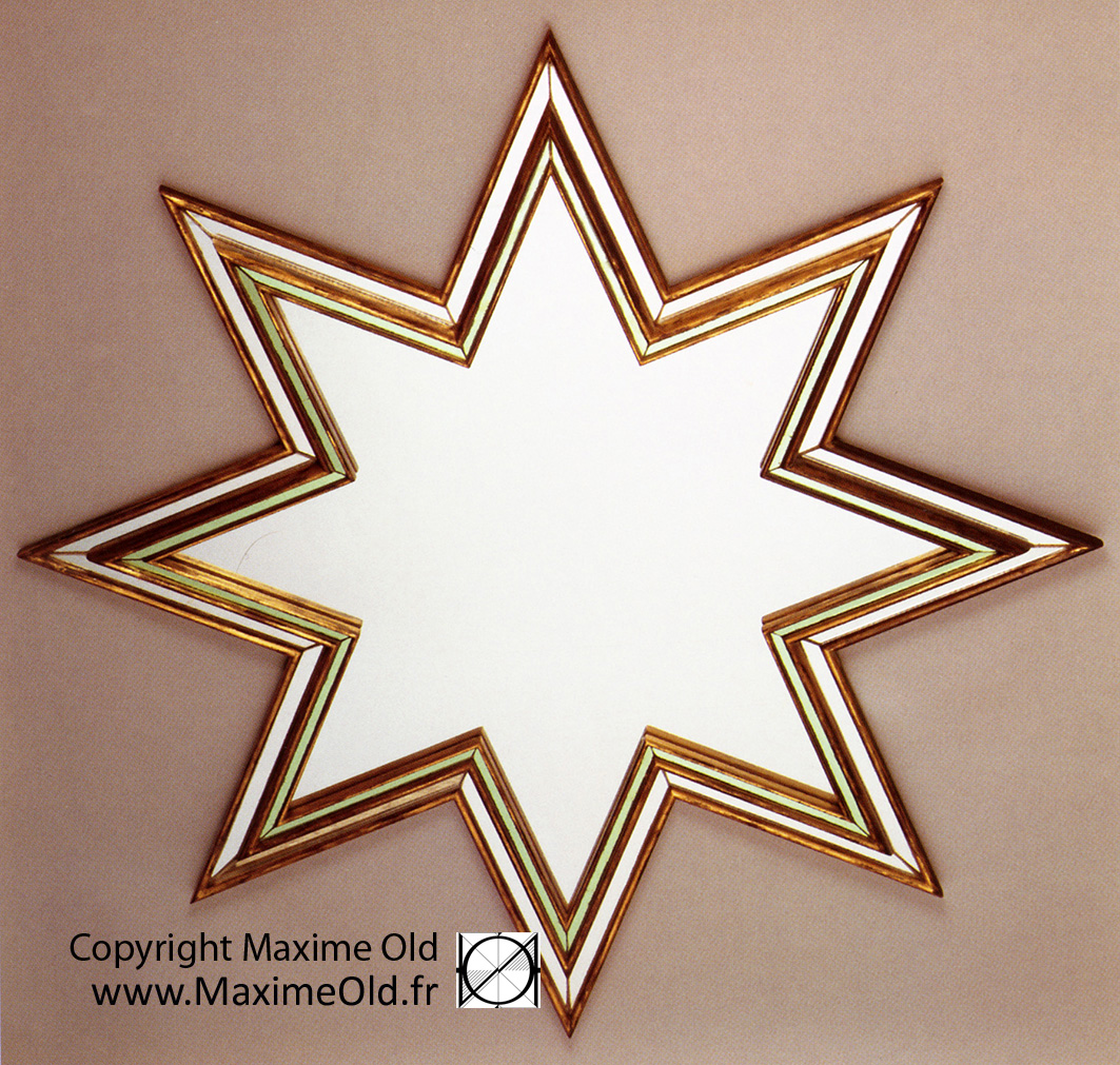 Maxime OLD Star Mirror by Maxime Old Concept