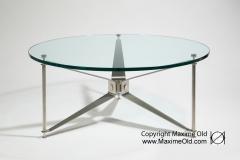 Réalisation Contemporaine Table Hélice Paquebot France Maxime Old Créateur de Meubles Modernes d'Art - Modern Art Furniture Designer