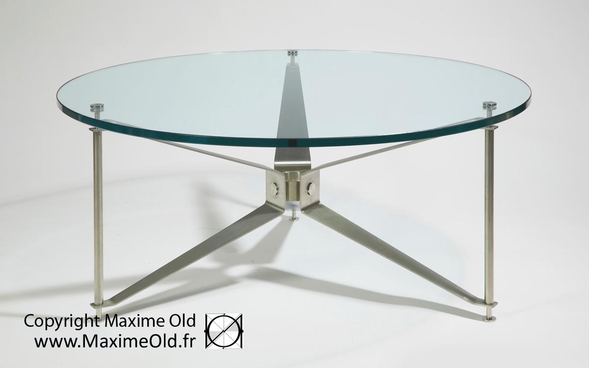 Table Hélice Maxime Old paquebot France par Maxime Old Concept