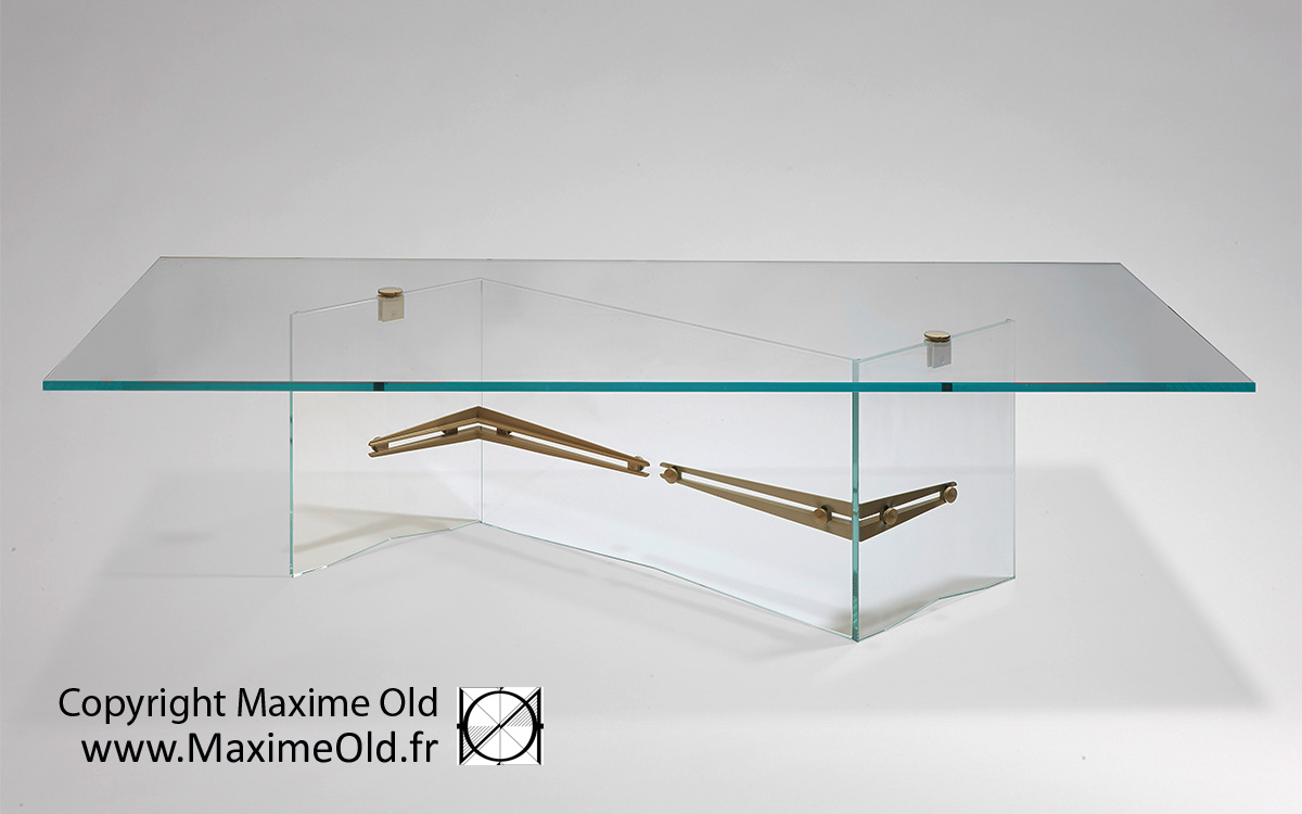 Table Iceberg Maxime Old par Maxime Old Concept
