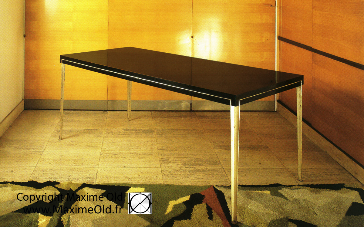 Table Onyx Paquebot France Maxime Old Par Maxime Old Concept