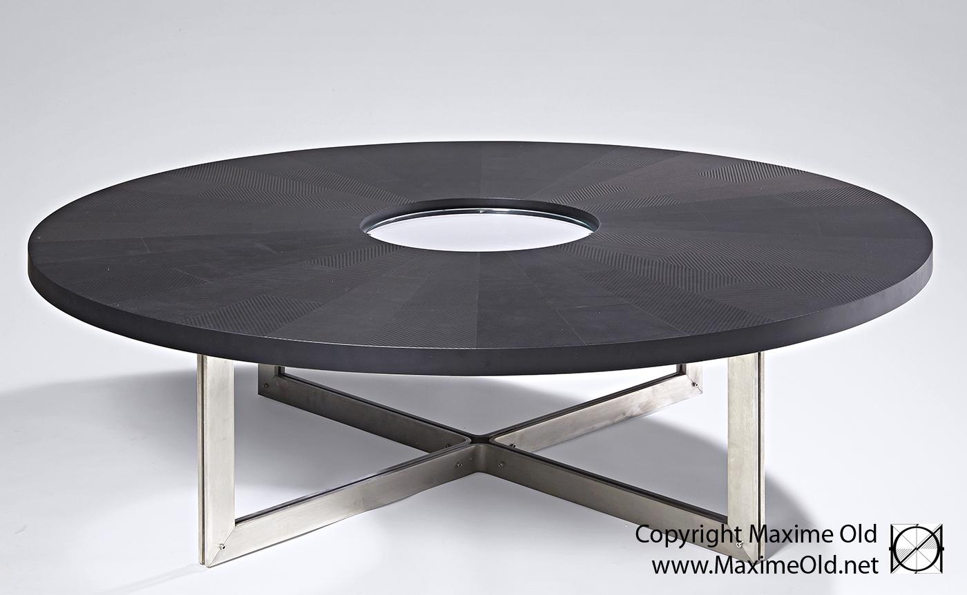 Delicieux Table Rose Des Vents Ronde Maxime Old, Créateur De Meubles Modernes Du0027Art