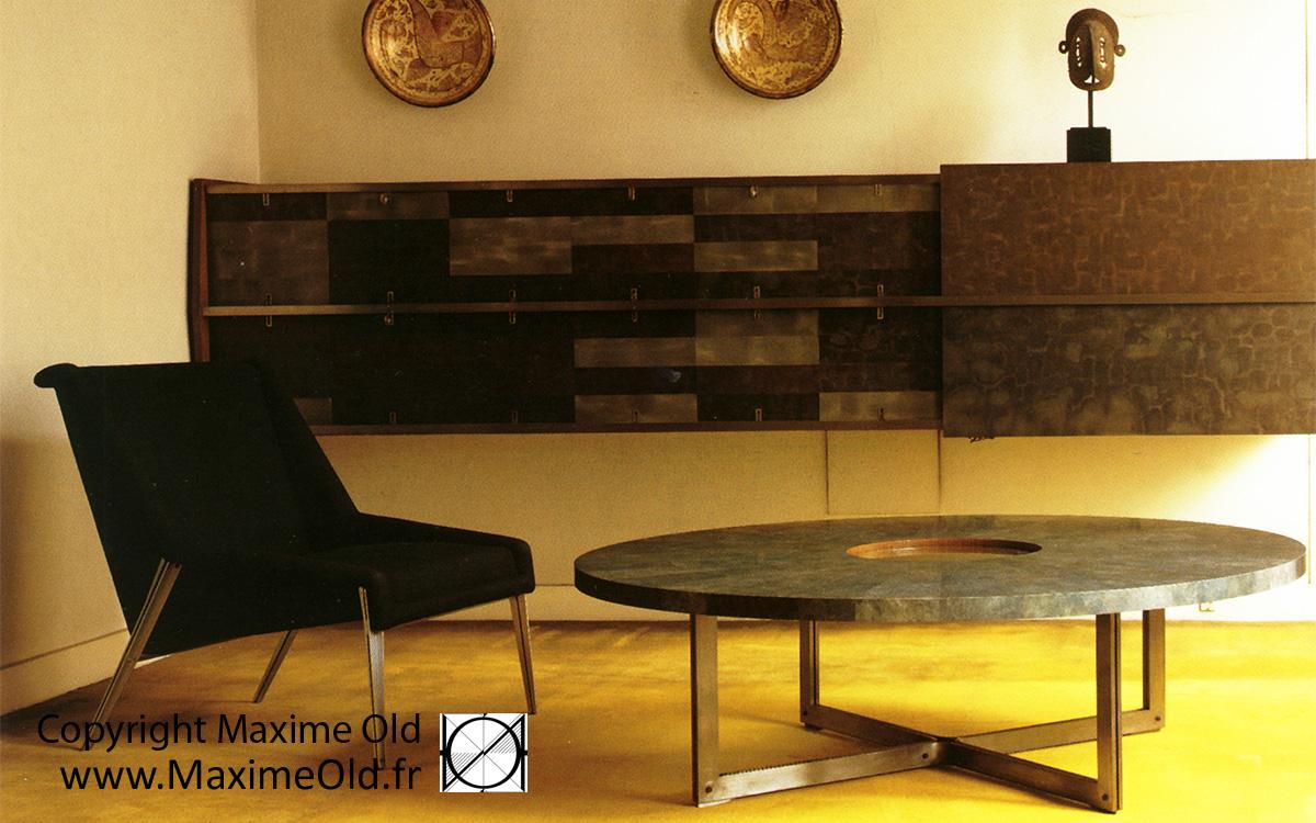 Table Rose Des Vents Archives Maxime Old Modern Art Furniture
