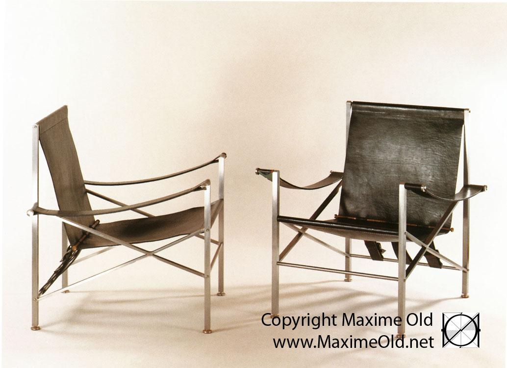 Fauteuil Createur fauteuil de pont vip de maxime old - créateur de meubles modernes d'art